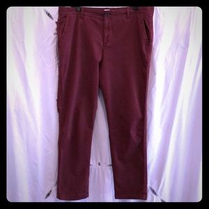 GAP girlfriend chinos sz 14